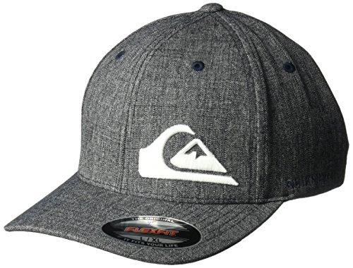 Quiksilver Men's Final Stretch FIT HAT, Navy Blazer Heather, L/XL from Quiksilver