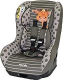 Osann Kinderautositz Safety Plus NT, (0-18 kg), ECE Gruppe 0/1, von Geburt bis ca. 4 Jahre, reboard bis 10 kg nutzbar, Giraffe khaki grün braun