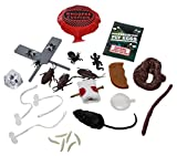 Classic Practical Jokes and Prank kit - 12 props, over 30 tricks, with storage bag