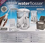 WATERPIK INC Water and Nano Flosser, Deluxe Traveler and Tip Storage Case and 12 Accessory Tips Combo Pack For Sale