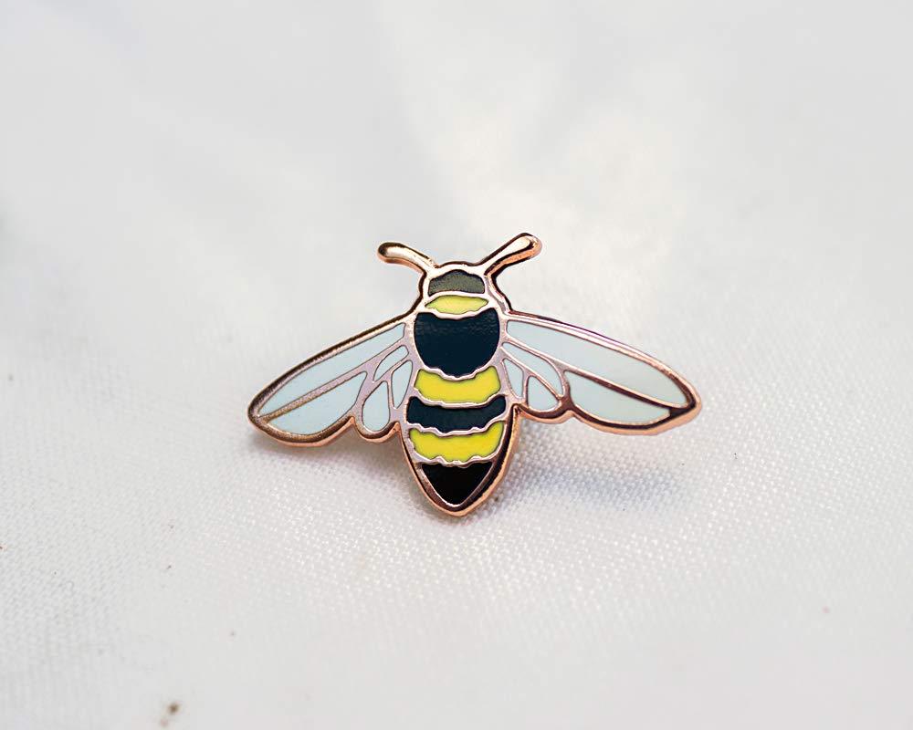 Honey Bee Enamel Pin - Lapel Pin - Badge