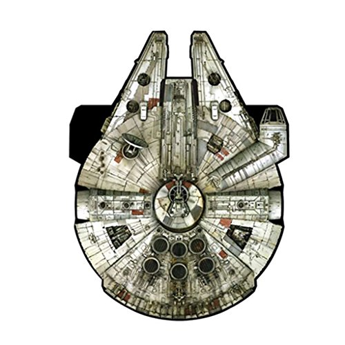 Star Wars Millennium Falcon Supersized Nylon Kite with Handle and Line, 50