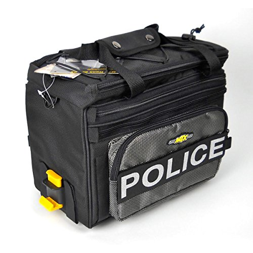 Topeak MTX Bicycle Trunk Bag DX w/POLICE logo - TT9615B-POL
