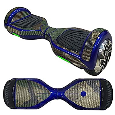 Balance Scooter/Hoverboard Vert Camouflage autocollants