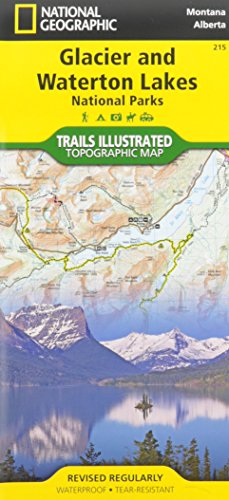 Best Easy Day Hiking Guide and National Geographic Trail Map Bundle: Glacier and Waterton National Parks (Best Easy Day Hikes Series)
