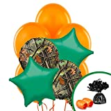 BirthdayExpress Hunting Camoflague Party Supplies Balloon Bouquet
