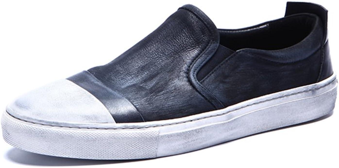 Zapatos de Color Retro Que los Hombres/Calzado Lazy/Zapato Viejo ...