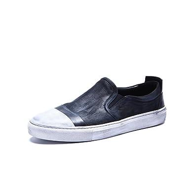 Zapatos de color retro que los hombres/Calzado Lazy/ zapato viejo/Marea zapatos pie-A Longitud del pie=25.8CM(10.2Inch) 4PInV9t