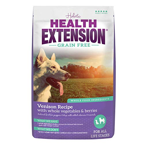 Health Extension Grain Free Dry Dog Food – Venison Recipe