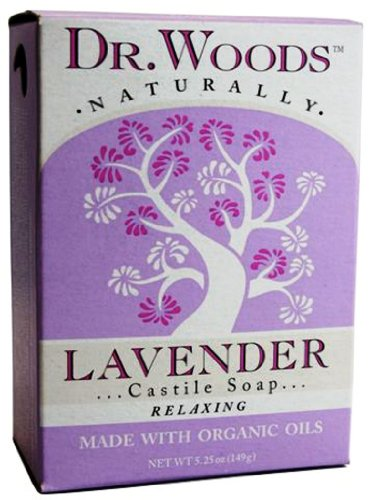 Dr. Woods Natural Soap, Lavender, 5.25 - Woods Lavender Soap
