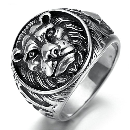 stainless-steel-ring-for-men-lions-head-ring-gothic-black-band-size-13-epinki