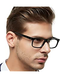 Men Fashion Rectangle Stylish Eyewear Frame With...