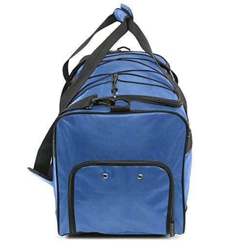 """51n7WzANu7L - Perry Ellis 22"""" Weekender Duffel Bag, Navy"""