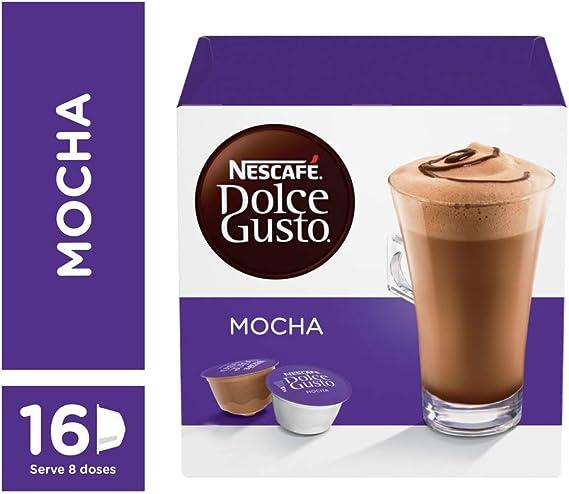 Nescafe Dolce Gusto Mocha 8 Beverages Amazon Co Uk Grocery