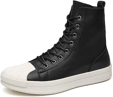 Amazon.com: Hilotu Zapatillas de skate para hombre, de ...