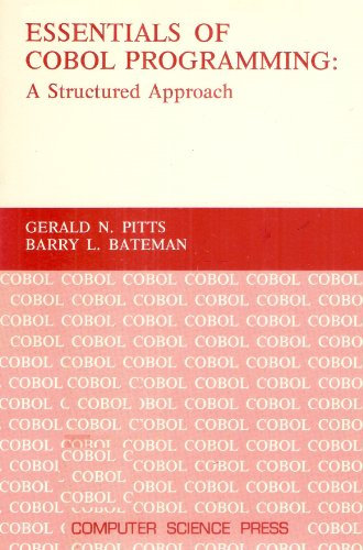 Essentials of COBOL programming: A structured approach