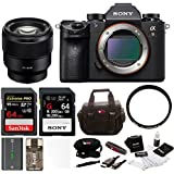 Sony a9 Full Frame Mirrorless ILC (ILCE9/B) + Sony SEL85F18 FE 85mm f/1.8 Prime + Sony 64GB SFG64T1 Bundle