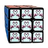 AVABAODAN Flamingo Couples Rubik's Cube Custom 3x3x3 Magic Square Puzzles Game Portable Toys-Anti Stress For Anti-anxiety Adults Kids