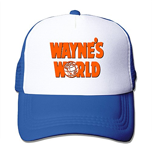 XJBD Unisex-Adult Wayne's World Travel Headwear RoyalBlue