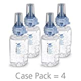 PURELL ADX-7 Advanced Hand Sanitizer Green Certified Gel, 700 mL Sanitizer Refill for ADX-7 Push-Style Dispenser (Case of 4) - 8703-04