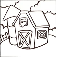 PaintaDoodle 12 x 12 Barn Canvas Painting Kit