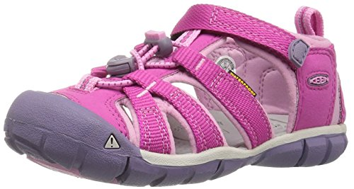 KEEN Seacamp II CNX Sandal, Very Berry/Lilac Chiffon, 11 M US Little Kid