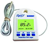 Supco SL500XT External Probe Temperature Data Logger with Real Time LCD