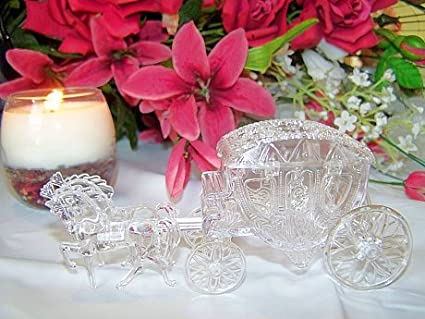 Pack of 12 Clear Horse   Carriage Wedding Favour Boxes  Amazon.co.uk   Kitchen   Home e3cd62b12