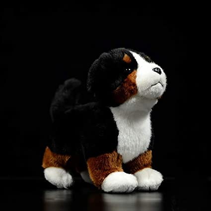 Amazon Com Mengfanet Bernese Mountain Dog Doll Cute Standing Dog