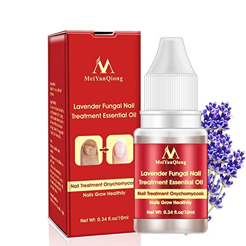 Lavender Fungal Nail Treatment Essential Oil Feet Care Whitening Toe Essence Removal Gel Anti Infection Paronychia Onychomycosis by MeiYanQiong