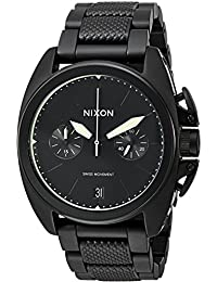 Men's 'Anthem Chrono' Swiss Quartz Stainless Steel Watch, Color:Black (Model: A9301256)
