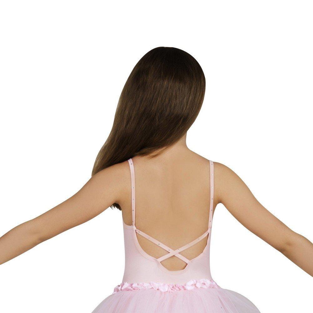5296e74803 Amazon.com: Sansha Toddler Girls Pink Faye Camisole Tutu Dance Dress 2-4T:  Clothing
