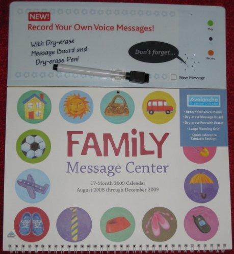 Family Message Center 2009 Sound Calendar
