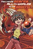 """One Card Greeting Card Valentines Day Bakugan """"You Could Search the Worlds of the Universe..."""""""