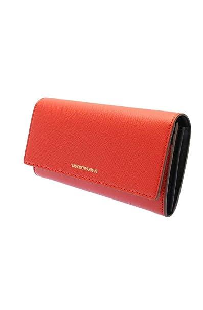 Emporio Armani Y3H008 YH65A carteras Mujer rojo UNI: Amazon.es: Ropa y accesorios