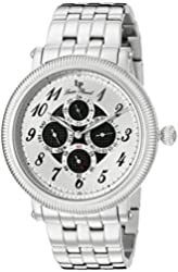 Lucien Piccard Men's LP-10113-11 Potenza Analog Display Quartz Silver Watch