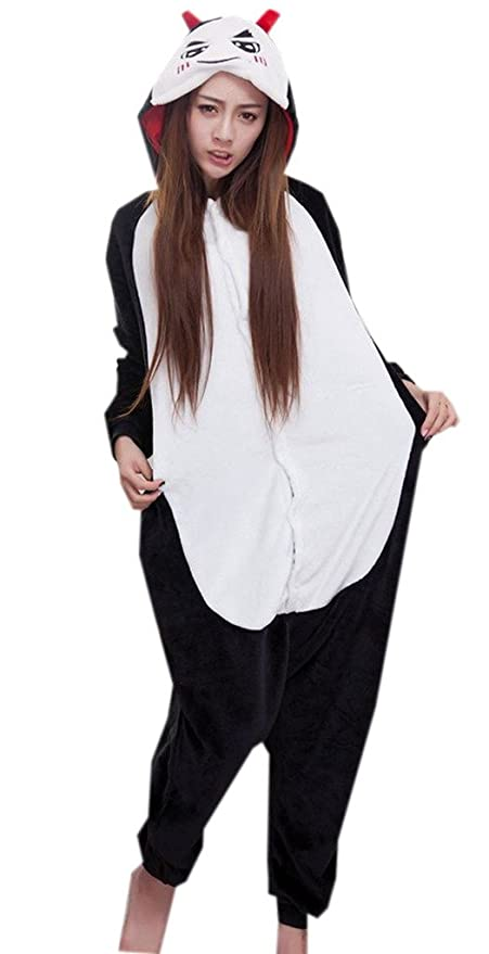 Y-BOA pijama traje pijama para con capucha disfraz diablo ...