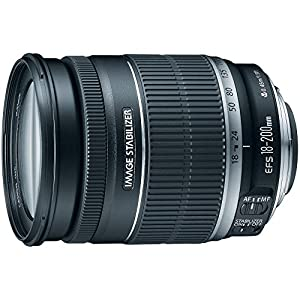 Best Epic Trends 51n7aFfigvL._SS300_ Canon EF-S 18-200mm f/3.5-5.6 IS Standard Zoom Lens for Canon DSLR Cameras (Renewed)