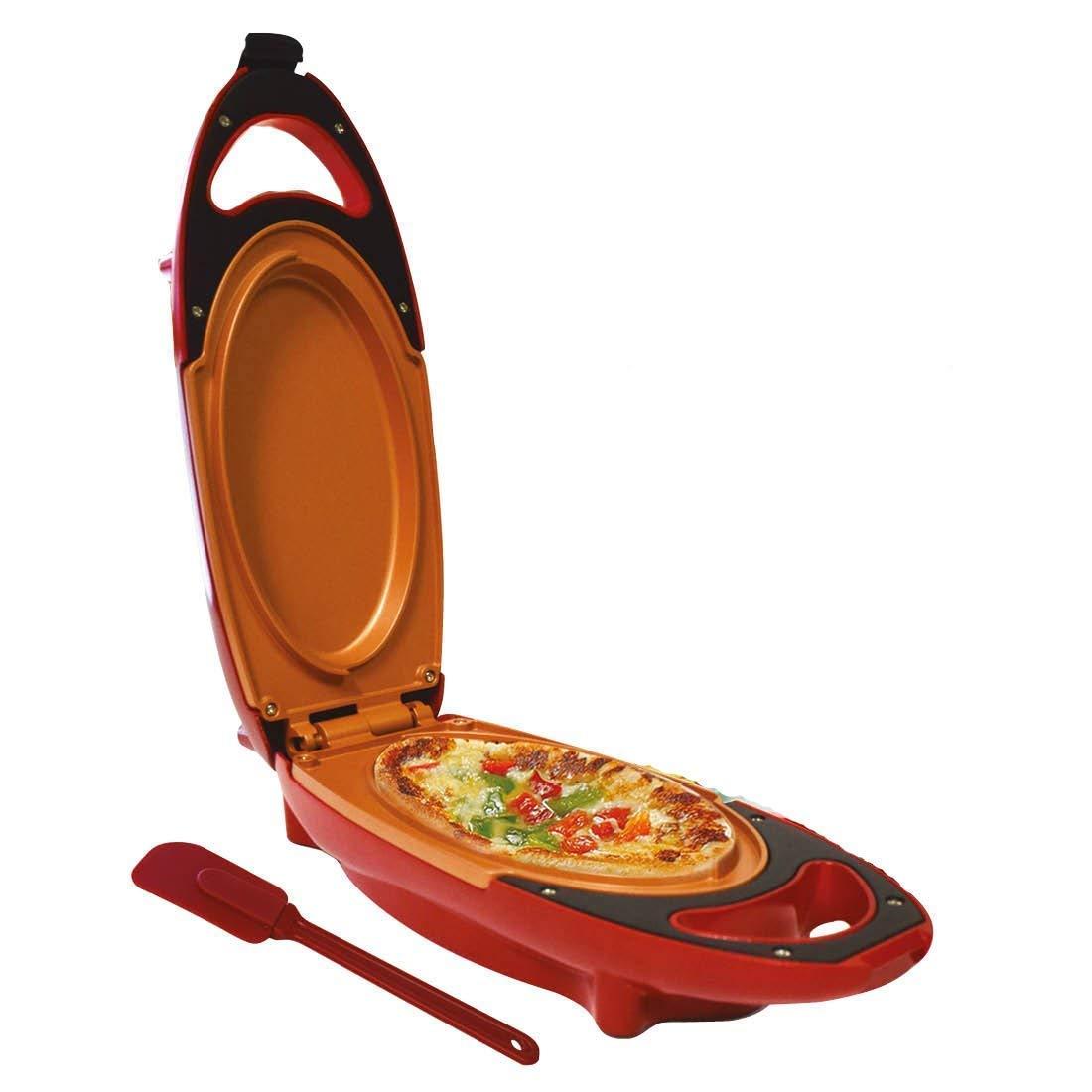 Paninis Pizzas Chef Rapide Antiadh/ésif Omelette Maker /électrique Po/êle /à Frire avec Deux plaques tr/ès Parfait de Cuisine Helper pour Bake Frittatas
