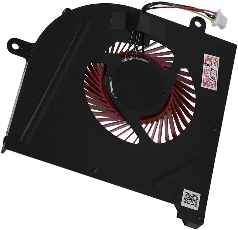 New CPU Cooling Fan for MSI GS63VR GS73VR Stealth Pro MS-16K2 MS-17B1 ASHATA PC Cooling Fan