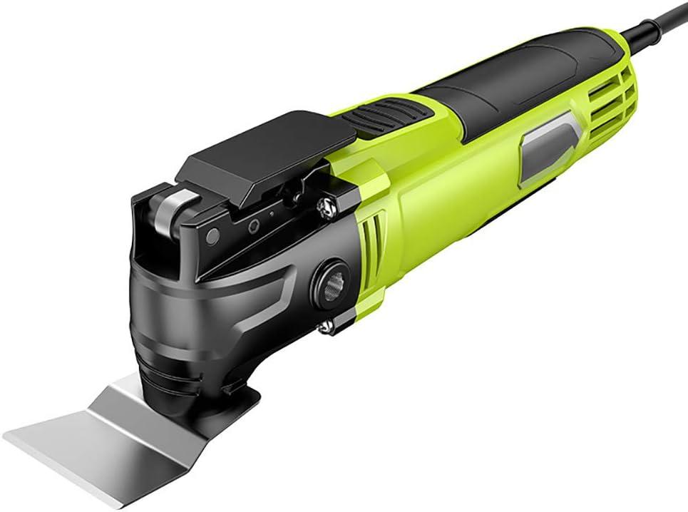 Sierra Oscilante El/éctrica Velocidad Ajustable 11,000-21,000 rpm Herramienta Oscilante Inal/ámbrica 18V Bater/ía de iones de litio 100-240V