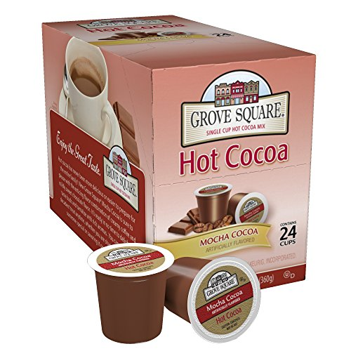 Hot Cocoa Mocha (Grove Square Hot Cocoa, Mocha Cocoa, 24 Single Serve Cups)
