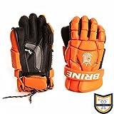 Brine King Superlight Lacrosse Goalie Glove, Orange, 13-Inch