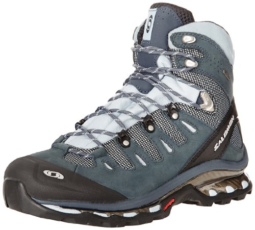Salomon Quest 4D GTX, Damen Sportschuhe - Walking Deep Blue/Cerulean/Grey Denim