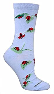 product image for Wheel House Designs Women's Ladybug Socks