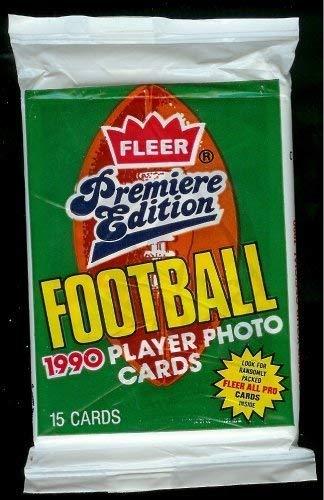 Fleer 1990 フットボール NFLコレクターズトレーディングカード 1990 未開封パック Fleer (カード15枚入り) - フットボール ランダムに挿入されたプロカードすべて B07JCJ9825, セトウチチョウ:7aa0f5ba --- hanjindnb.su