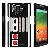 MINITURTLE Case Compatible w/ [ZTE Zmax Slim case, Z970 case ][Snap Shell] Hard Plastic Slim Fitted Snap on case w/ Unique Designs – Game Controller Review
