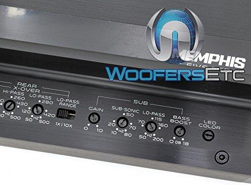 Memphis VIV900.5 FIVE Series 900W 5-Channel Car Amplifier