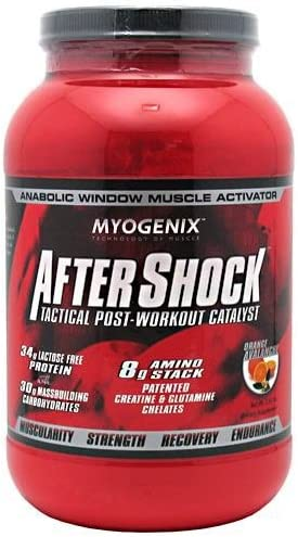 Myogenix After Shock Orange 2.64lb