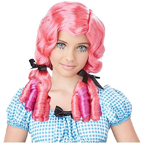 French Maid Choker And Hair Bow Set (Doll Curls Wig Costume Accessory Kids Halloween)